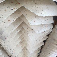 Petal paper in the loft